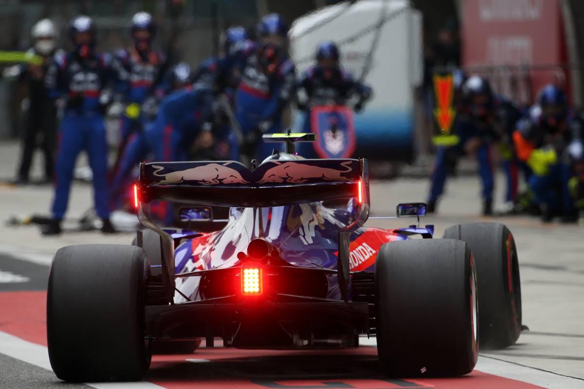 Alexander Albon (THA), Scuderia Toro Rosso 14.04.2019.