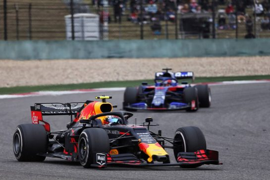 Max Verstappen (NLD) Red Bull Racing RB15. 14.04.2019. Formula 1 World Championship, Rd 3, Chinese Grand Prix, Shanghai, China, Race Day. - www.xpbimages.com, EMail: requests@xpbimages.com - copy of publication required for printed pictures. Every used picture is fee-liable. © Copyright: Photo4 / XPB Images