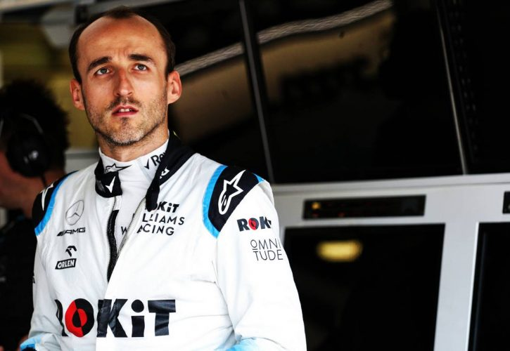 Robert Kubica Williams F1 Team