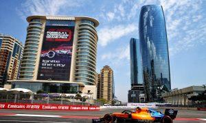2019 Azerbaijan Grand Prix Free Practice 2 - Results