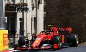 Leclerc and Vettel top Friday's single practice session in Baku