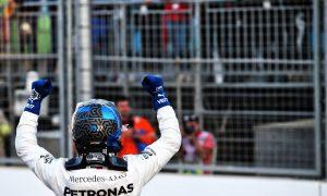 Bottas beats Hamilton to Baku pole after Leclerc crashes