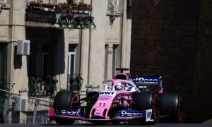 Perez delighted to get 'everything right' in Baku qualifying
