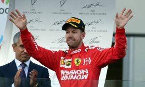 Vettel admits Ferrari no longer title favourites