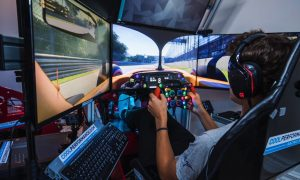 Norris picks up virtual racing tips from Verstappen
