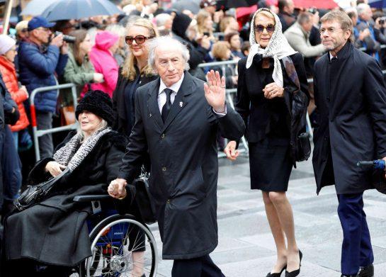 Sir Jackie Stewart and Lady Helen, Nina Rindt and Paul Stewart