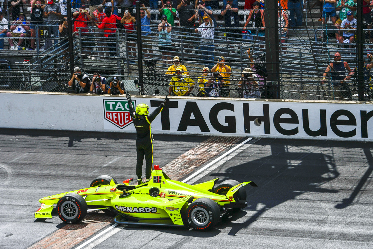 Simon Pagenaud wins the 2019 Indianapolis 500