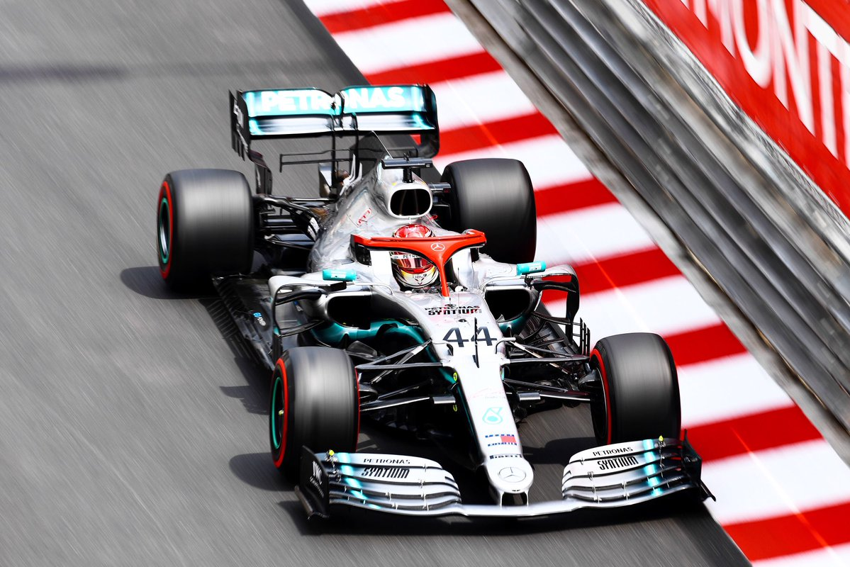 Lewis Hamilton wins the 2019 Monaco GP