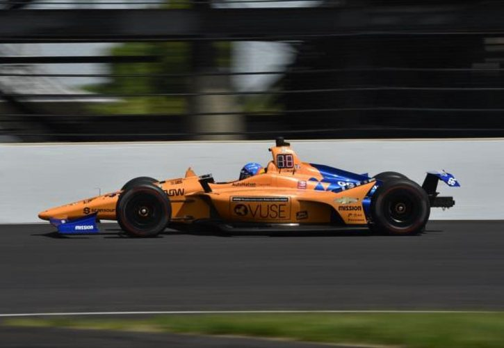 Fernando Alonso after Indy 500 practice crash: 'We will be back stronger'