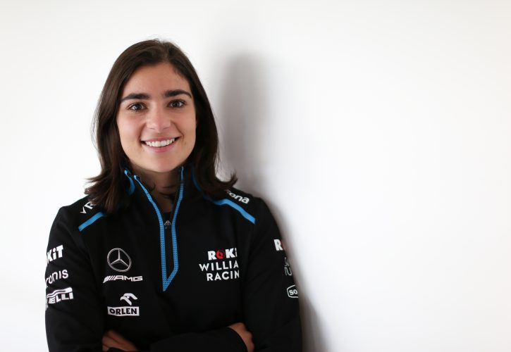 Jamie Chadwick joins Williams F1 team as a development driver