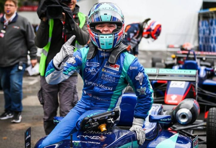 Billy Monger has won his first race since his accident