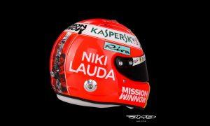 Vettel goes full 'Niki' with special tribute lid