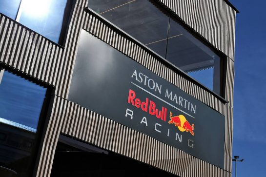 Red Bull Racing motorhome. 09.05.2019. Formula 1 World Championship, Rd 5, Spanish Grand Prix, Barcelona, Spain, Preparation Day. - www.xpbimages.com, EMail: requests@xpbimages.com - copy of publication required for printed pictures. Every used picture is fee-liable. © Copyright: Batchelor / XPB Images