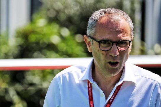 Stefano Domenicali (ITA) Lamborghini CEO.