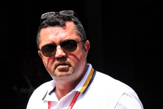 Eric Boullier (FRA).