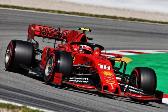 Charles Leclerc (MON) Ferrari SF90. 10.05.2019. Formula 1 World Championship, Rd 5, Spanish Grand Prix, Barcelona, Spain, Practice Day. - www.xpbimages.com, EMail: requests@xpbimages.com - copy of publication required for printed pictures. Every used picture is fee-liable. © Copyright: Moy / XPB Images