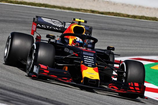 Pierre Gasly (FRA) Red Bull Racing RB15. 10.05.2019. Formula 1 World Championship, Rd 5, Spanish Grand Prix, Barcelona, Spain, Practice Day. - www.xpbimages.com, EMail: requests@xpbimages.com - copy of publication required for printed pictures. Every used picture is fee-liable. © Copyright: Moy / XPB Images