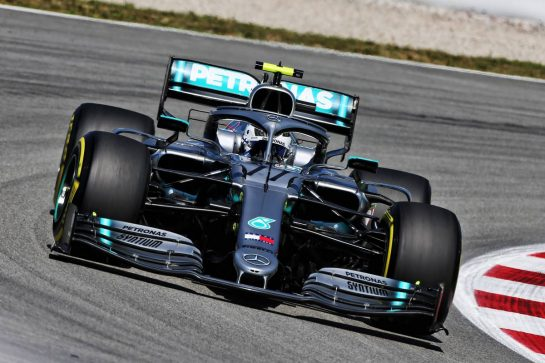 Valtteri Bottas (FIN) Mercedes AMG F1 W10. 10.05.2019. Formula 1 World Championship, Rd 5, Spanish Grand Prix, Barcelona, Spain, Practice Day. - www.xpbimages.com, EMail: requests@xpbimages.com - copy of publication required for printed pictures. Every used picture is fee-liable. © Copyright: Moy / XPB Images