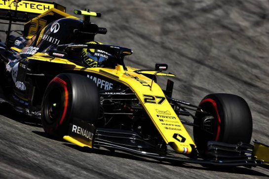 Nico Hulkenberg (GER) Renault F1 Team RS19. 10.05.2019. Formula 1 World Championship, Rd 5, Spanish Grand Prix, Barcelona, Spain, Practice Day. - www.xpbimages.com, EMail: requests@xpbimages.com - copy of publication required for printed pictures. Every used picture is fee-liable. © Copyright: Charniaux / XPB Images