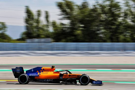 Lando Norris (GBR) McLaren MCL34. 10.05.2019. Formula 1 World Championship, Rd 5, Spanish Grand Prix, Barcelona, Spain, Practice Day. - www.xpbimages.com, EMail: requests@xpbimages.com - copy of publication required for printed pictures. Every used picture is fee-liable. © Copyright: Charniaux / XPB Images
