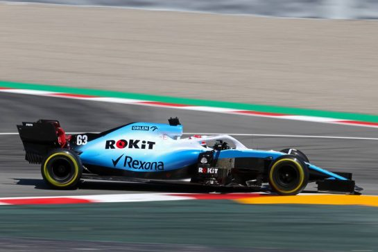 George Russell (GBR), Williams F1 Team  10.05.2019. Formula 1 World Championship, Rd 5, Spanish Grand Prix, Barcelona, Spain, Practice Day. - www.xpbimages.com, EMail: requests@xpbimages.com - copy of publication required for printed pictures. Every used picture is fee-liable. © Copyright: Charniaux / XPB Images