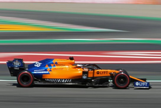 Carlos Sainz Jr (ESP), McLaren F1 Team 10.05.2019. Formula 1 World Championship, Rd 5, Spanish Grand Prix, Barcelona, Spain, Practice Day.- www.xpbimages.com, EMail: requests@xpbimages.com - copy of publication required for printed pictures. Every used picture is fee-liable. © Copyright: Charniaux / XPB Images