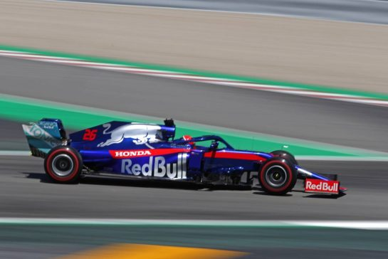 Daniil Kvyat (RUS), Scuderia Toro Rosso 10.05.2019. Formula 1 World Championship, Rd 5, Spanish Grand Prix, Barcelona, Spain, Practice Day.- www.xpbimages.com, EMail: requests@xpbimages.com - copy of publication required for printed pictures. Every used picture is fee-liable. © Copyright: Charniaux / XPB Images