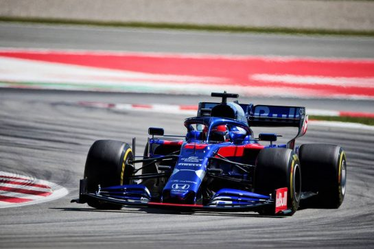 Daniil Kvyat (RUS) Scuderia Toro Rosso STR14. 10.05.2019. Formula 1 World Championship, Rd 5, Spanish Grand Prix, Barcelona, Spain, Practice Day. - www.xpbimages.com, EMail: requests@xpbimages.com - copy of publication required for printed pictures. Every used picture is fee-liable. © Copyright: Photo4 / XPB Images