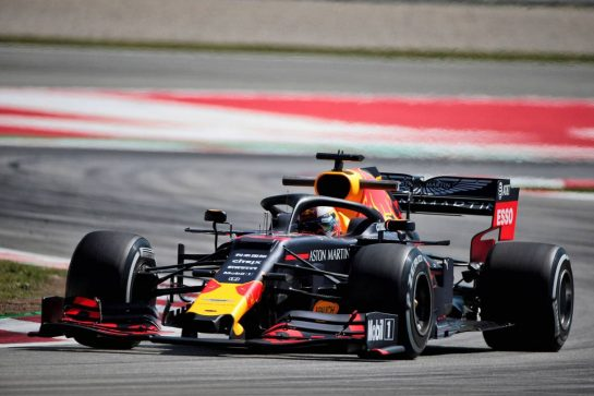 Max Verstappen (NLD) Red Bull Racing RB15. 10.05.2019. Formula 1 World Championship, Rd 5, Spanish Grand Prix, Barcelona, Spain, Practice Day. - www.xpbimages.com, EMail: requests@xpbimages.com - copy of publication required for printed pictures. Every used picture is fee-liable. © Copyright: Photo4 / XPB Images