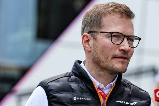 Andreas Seidl, McLaren Managing Director. 10.05.2019. Formula 1 World Championship, Rd 5, Spanish Grand Prix, Barcelona, Spain, Practice Day. - www.xpbimages.com, EMail: requests@xpbimages.com - copy of publication required for printed pictures. Every used picture is fee-liable. © Copyright: Batchelor / XPB Images