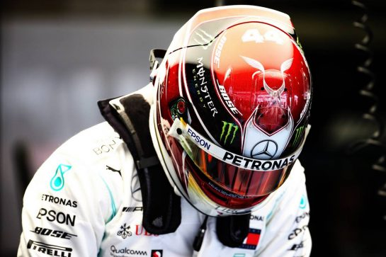 Lewis Hamilton (GBR) Mercedes AMG F1. 10.05.2019. Formula 1 World Championship, Rd 5, Spanish Grand Prix, Barcelona, Spain, Practice Day. - www.xpbimages.com, EMail: requests@xpbimages.com - copy of publication required for printed pictures. Every used picture is fee-liable. © Copyright: Batchelor / XPB Images