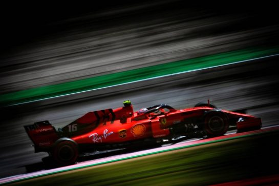 Charles Leclerc (MON) Ferrari SF90. 10.05.2019. Formula 1 World Championship, Rd 5, Spanish Grand Prix, Barcelona, Spain, Practice Day.  - www.xpbimages.com, EMail: requests@xpbimages.com - copy of publication required for printed pictures. Every used picture is fee-liable. © Copyright: Bearne / XPB Images