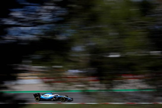 George Russell (GBR), Williams F1 Team 10.05.2019. Formula 1 World Championship, Rd 5, Spanish Grand Prix, Barcelona, Spain, Practice Day.- www.xpbimages.com, EMail: requests@xpbimages.com - copy of publication required for printed pictures. Every used picture is fee-liable. © Copyright: Charniaux / XPB Images