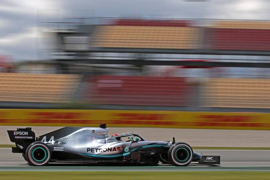 Lewis Hamilton (GBR), Mercedes AMG F1  10.05.2019. Formula 1 World Championship, Rd 5, Spanish Grand Prix, Barcelona, Spain, Practice Day.- www.xpbimages.com, EMail: requests@xpbimages.com - copy of publication required for printed pictures. Every used picture is fee-liable. © Copyright: Charniaux / XPB Images