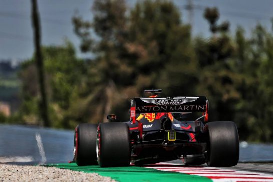 Max Verstappen (NLD) Red Bull Racing RB15. 10.05.2019. Formula 1 World Championship, Rd 5, Spanish Grand Prix, Barcelona, Spain, Practice Day. - www.xpbimages.com, EMail: requests@xpbimages.com - copy of publication required for printed pictures. Every used picture is fee-liable. © Copyright: Moy / XPB Images