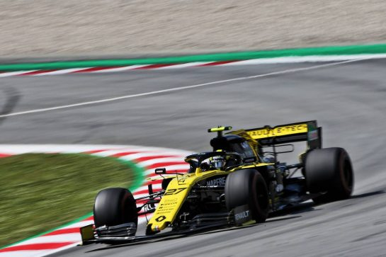Nico Hulkenberg (GER) Renault F1 Team RS19. 10.05.2019. Formula 1 World Championship, Rd 5, Spanish Grand Prix, Barcelona, Spain, Practice Day. - www.xpbimages.com, EMail: requests@xpbimages.com - copy of publication required for printed pictures. Every used picture is fee-liable. © Copyright: Moy / XPB Images