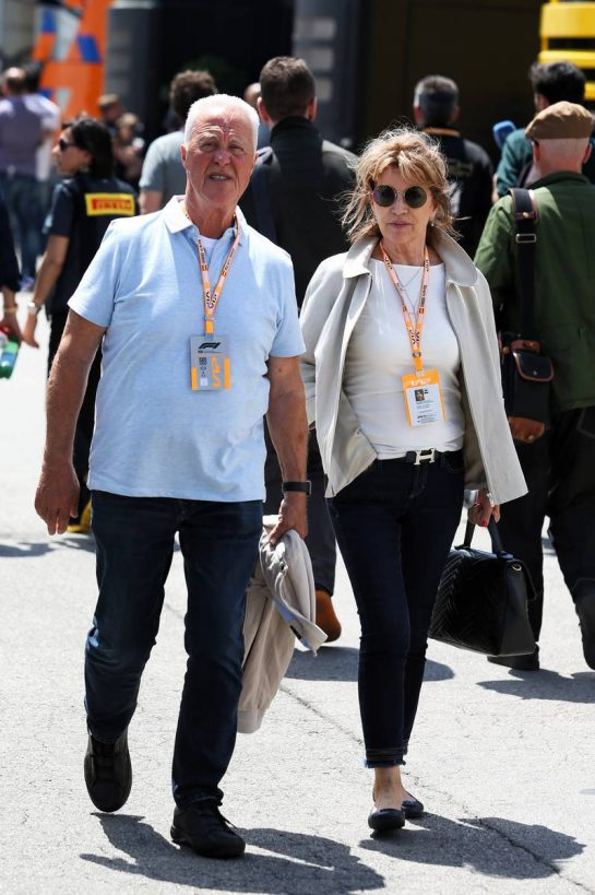 (L to R): Rolf Schumacher (GER) with his wife Barbara Schumacher (GER). 10.05.2019. Formula 1 World Championship, Rd 5, Spanish Grand Prix, Barcelona, Spain, Practice Day. - www.xpbimages.com, EMail: requests@xpbimages.com - copy of publication required for printed pictures. Every used picture is fee-liable. © Copyright: Moy / XPB Images