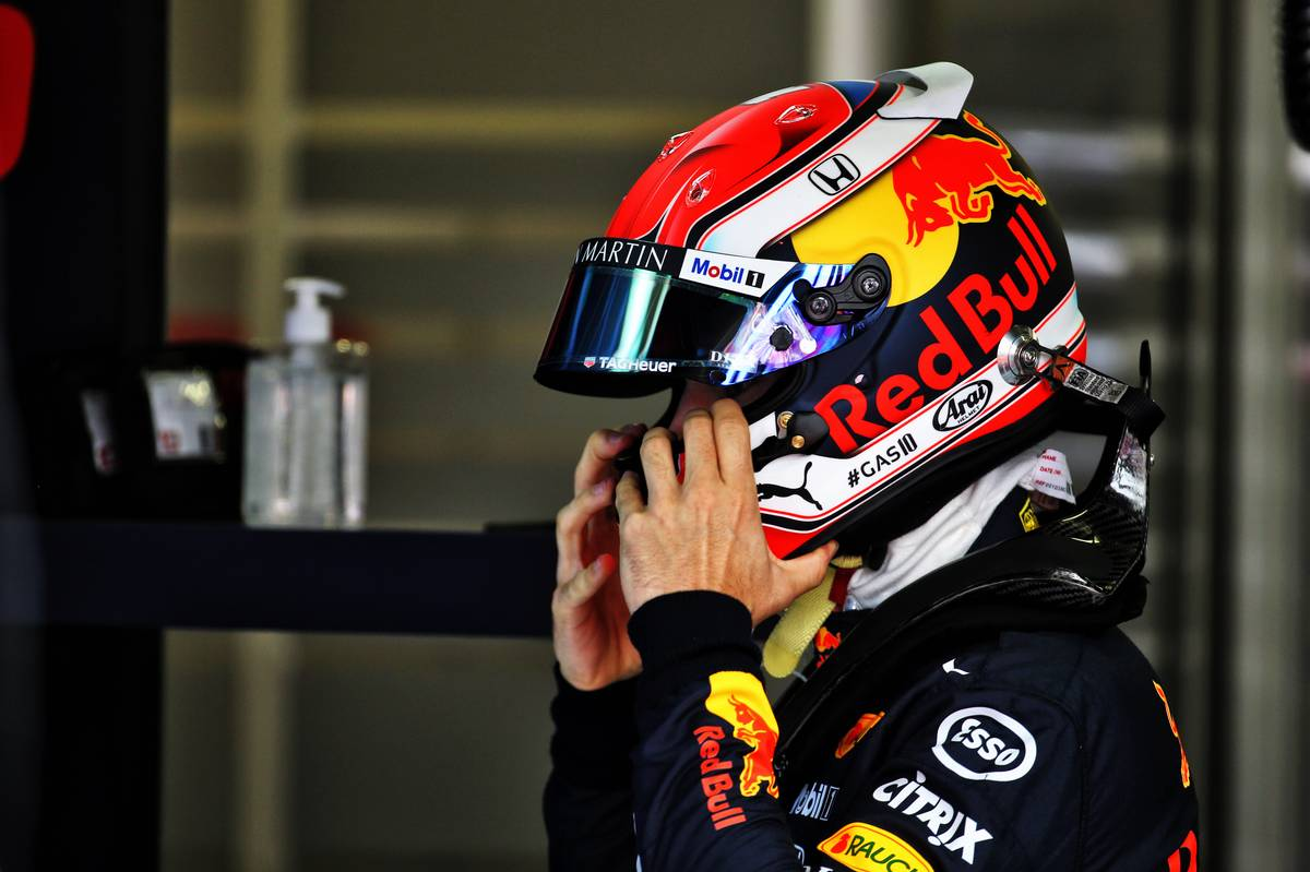 Pierre Gasly (FRA) Red Bull Racing.