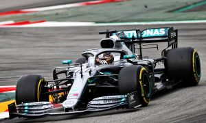 Hamilton takes over for Mercedes in final practice in Barcelona