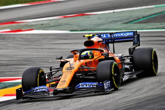 Lando Norris (GBR) McLaren MCL34. 11.05.2019. Formula 1 World Championship, Rd 5, Spanish Grand Prix, Barcelona, Spain, Qualifying Day.  - www.xpbimages.com, EMail: requests@xpbimages.com - copy of publication required for printed pictures. Every used picture is fee-liable. © Copyright: Bearne / XPB Images