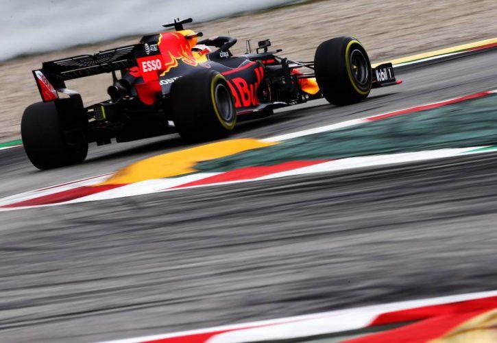 Max Verstappen (NLD) Red Bull Racing RB15.