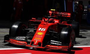 Car damage compromised 'unhappy' Leclerc in qualifying