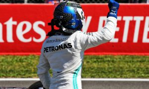 Bottas puts a stop to Hamilton's run of poles in Barcelona