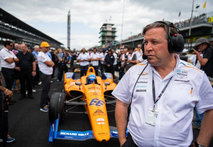 Zak Brown (USA) McLaren Executive Director. 19.05.2019. Indianapolis 500 Qualifying, USA.