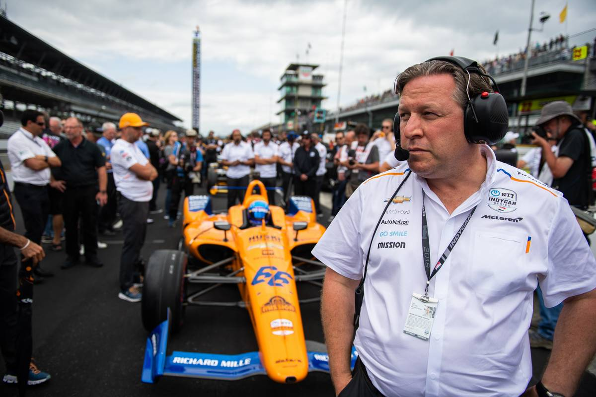 Zak Brown (USA) McLaren Executive Director. 19.05.2019. Indianapolis 500 Qualifying, USA.