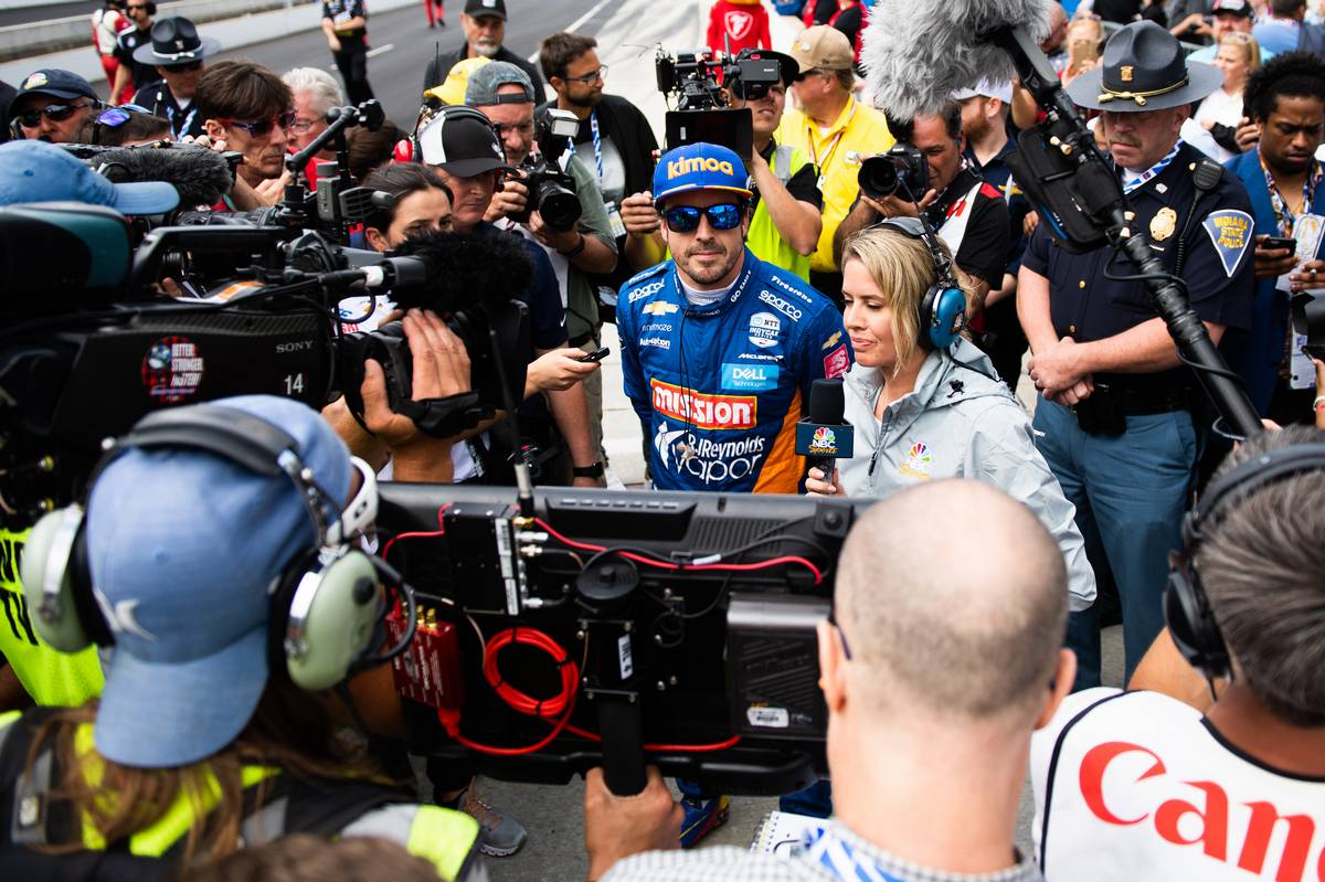 Fernando Alonso, McLaren Racing.