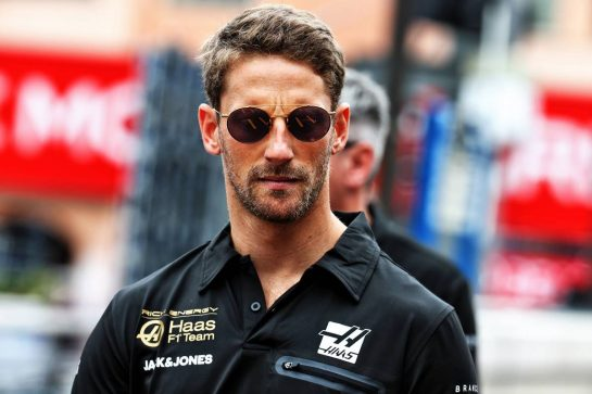 Romain Grosjean (FRA) Haas F1 Team. 22.05.2019. Formula 1 World Championship, Rd 6, Monaco Grand Prix, Monte Carlo, Monaco, Preparation Day. - www.xpbimages.com, EMail: requests@xpbimages.com - copy of publication required for printed pictures. Every used picture is fee-liable. © Copyright: Batchelor / XPB Images
