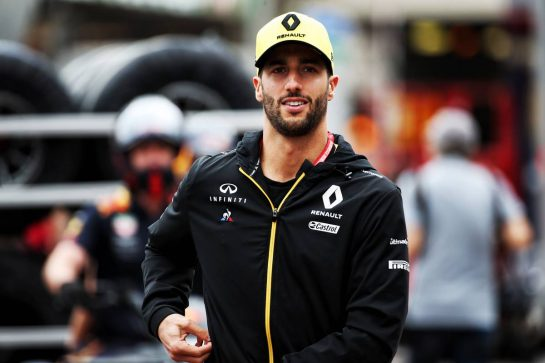 Daniel Ricciardo (AUS) Renault F1 Team. 22.05.2019. Formula 1 World Championship, Rd 6, Monaco Grand Prix, Monte Carlo, Monaco, Preparation Day. - www.xpbimages.com, EMail: requests@xpbimages.com - copy of publication required for printed pictures. Every used picture is fee-liable. © Copyright: Batchelor / XPB Images