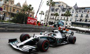 Hamilton edges Verstappen in Monaco opening practice