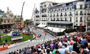 Monaco GP: Thursday's action in pictures